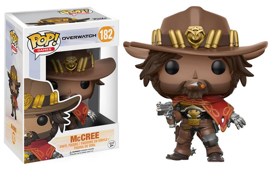 McCree #182 - Overwatch - Funko Pop! Games