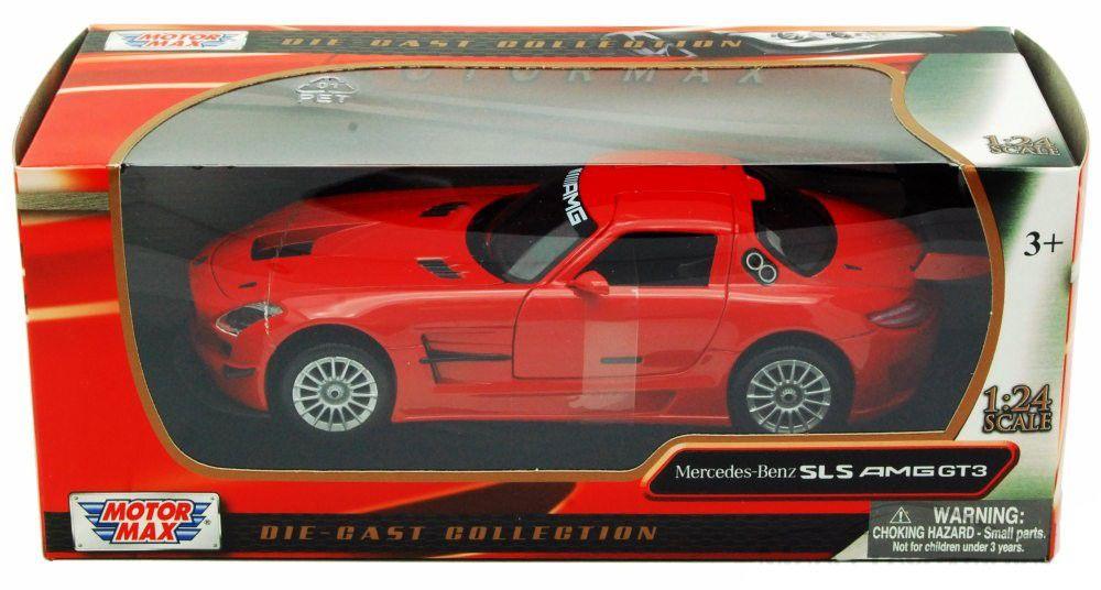 Mercedes-Benz SLS AMG GT3 - Escala 1:24 - Motormax