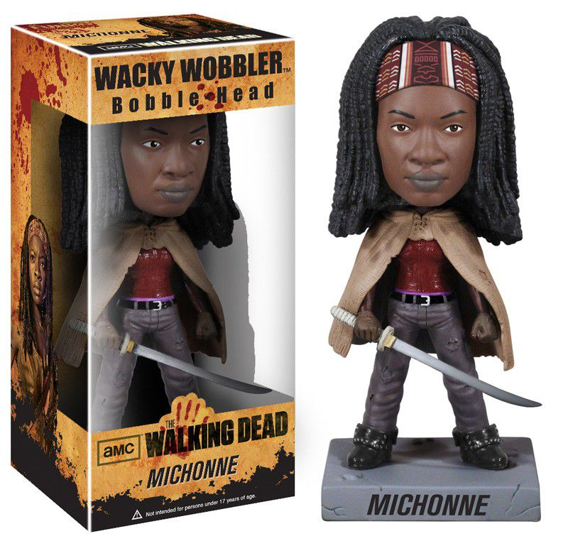 Michonne - The Walking Dead - Funko Wacky Wobbler