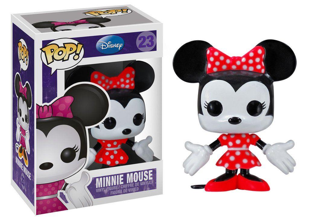 Minnie Mouse #23 ( Roupa Vermelha ) - Funko Pop! Disney