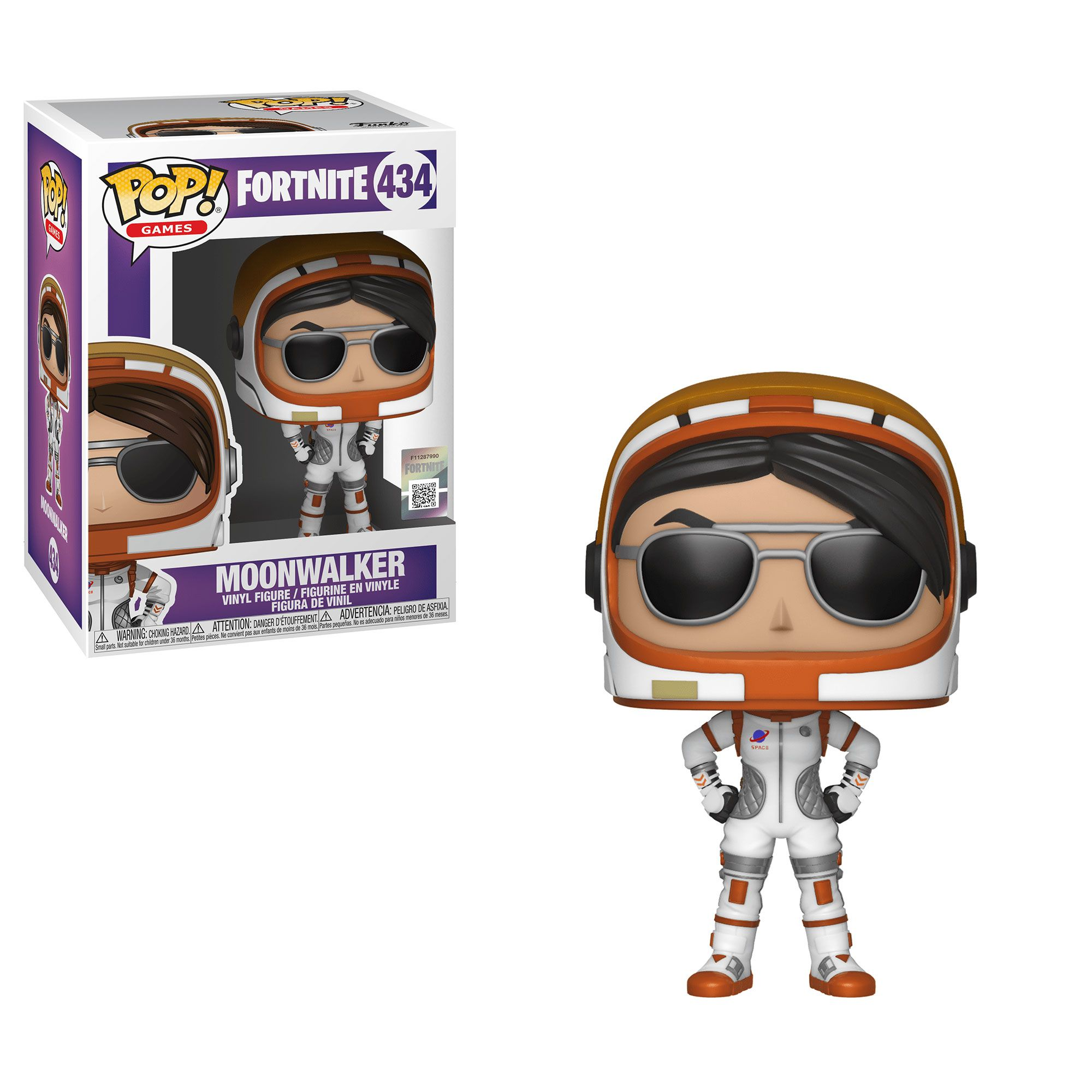 Moonwalker #434 - Fortnite - Funko Pop! Games
