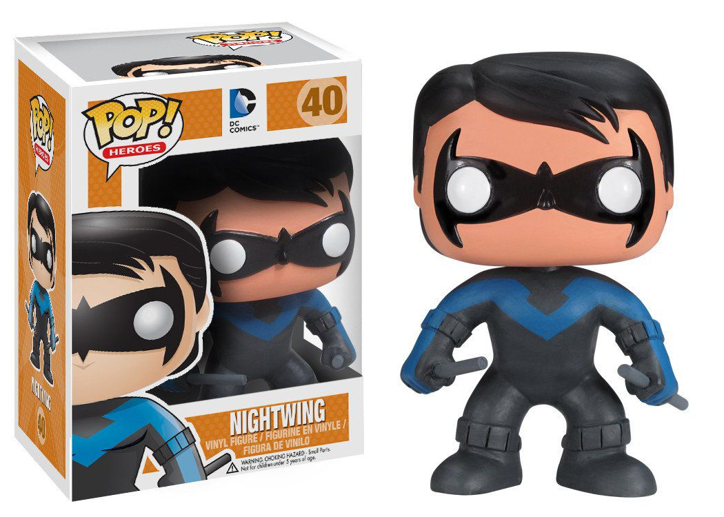 Nightwing #40 ( Asa Noturna ) - DC Universe - Funko Pop! Heroes