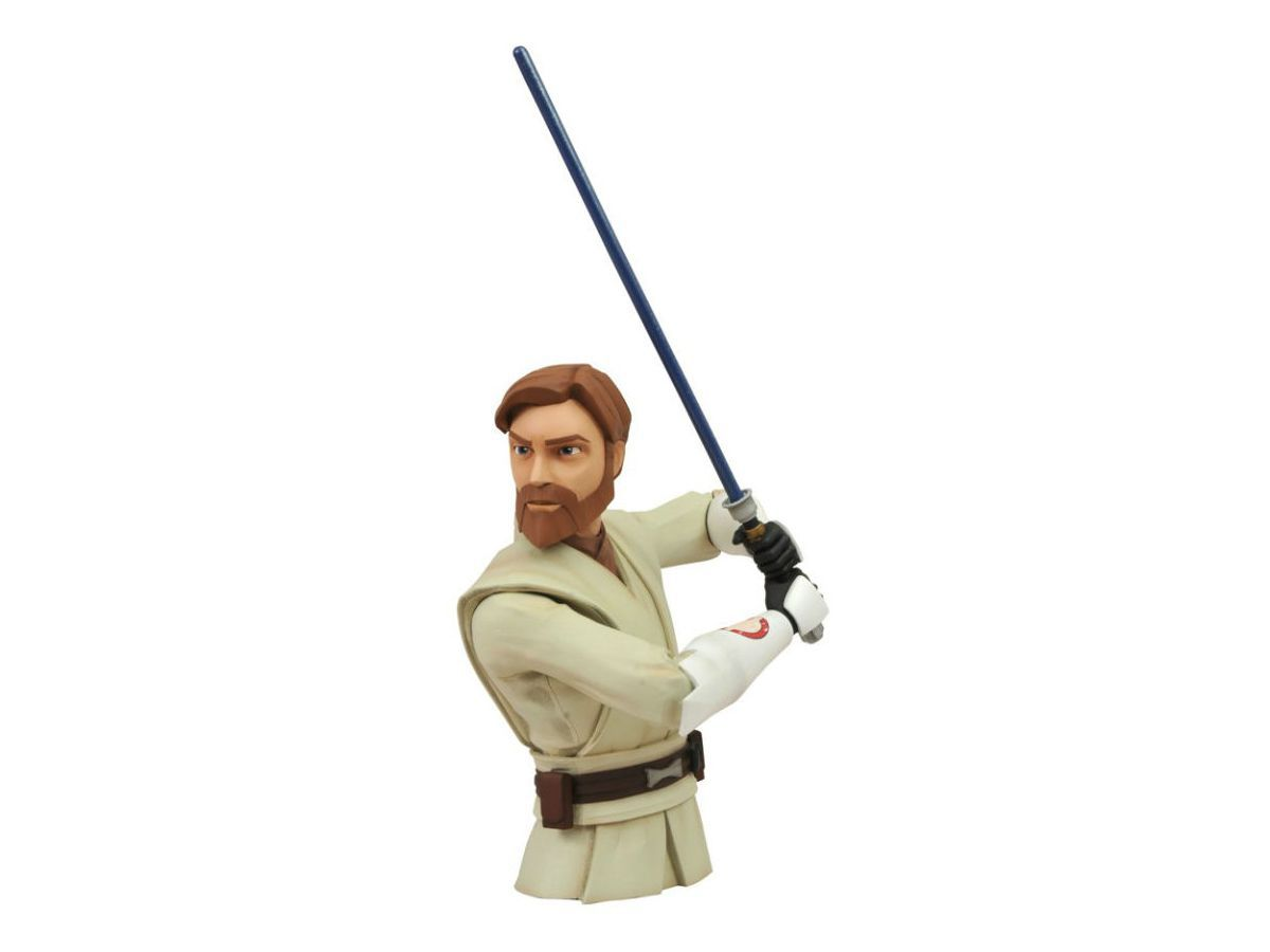 Obi-Wan Kenobi Bust Bank - Star Wars - Diamond Select Toys