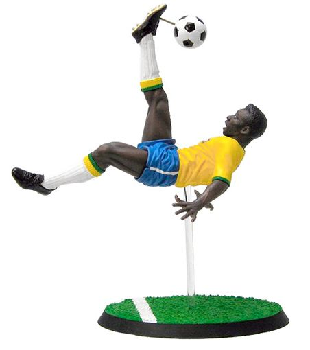 Pelé ( Edson Arantes do Nascimento ) - 20th Century Icon Figure - Kotobukiya