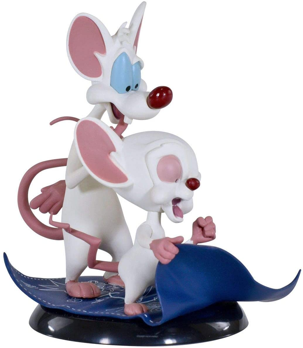 Pinky and The Brain (Pink e o Cérebro) - Q-Fig - Quantum Mechanix