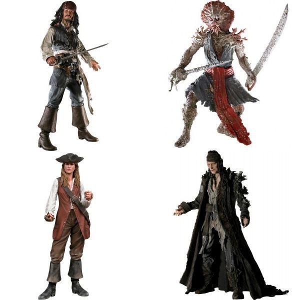 Pirates of The Caribbean Dead Man's Chest ( Piratas do Caribe Baú da Morte ) - NECA