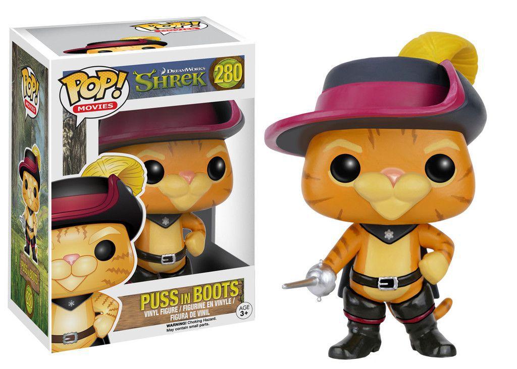 Puss in Boots #280 ( Gato de botas ) - Shrek - Funko Pop! Movies