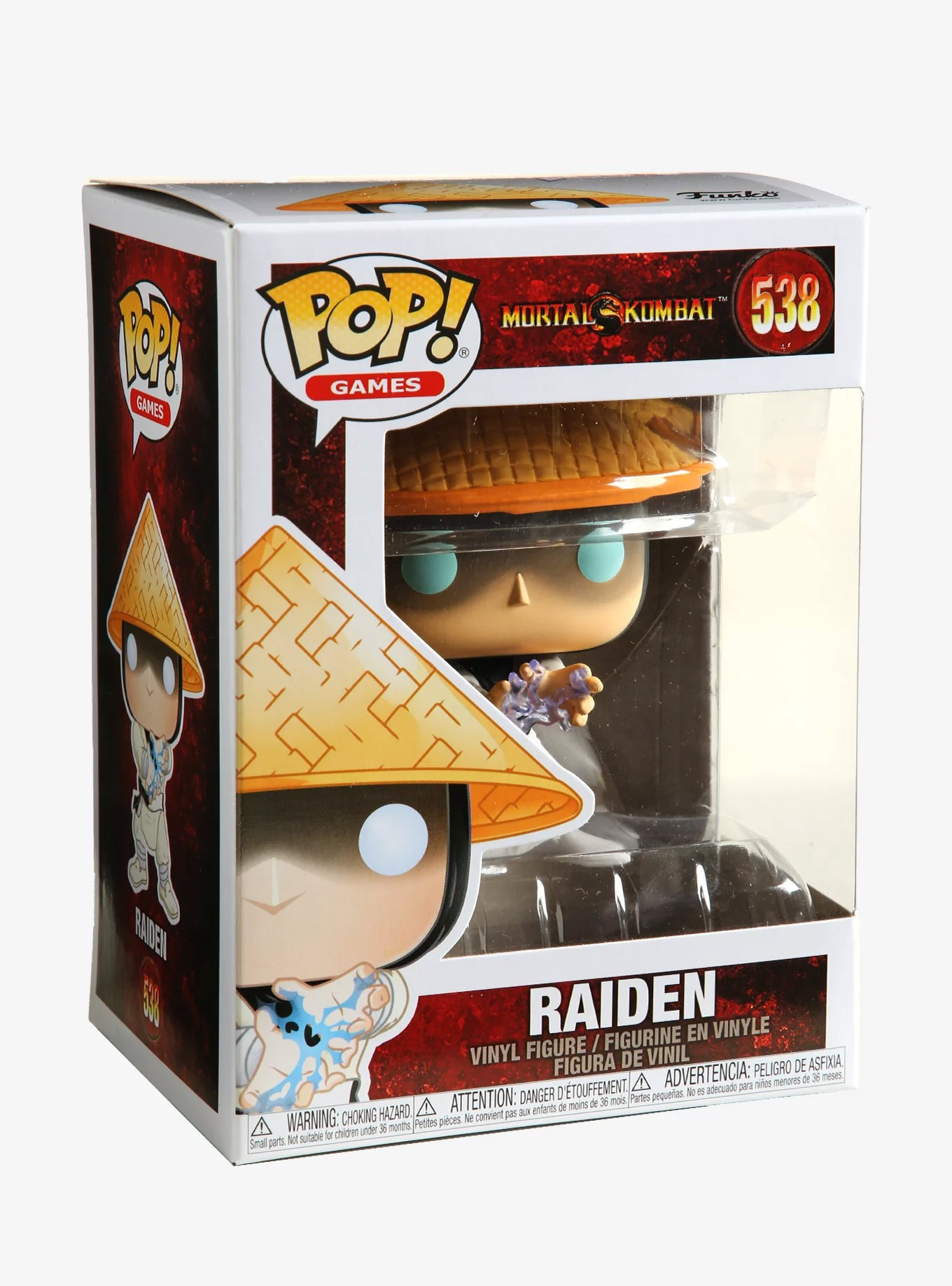Raiden #538 - Mortal Kombat - Funko Pop! Games