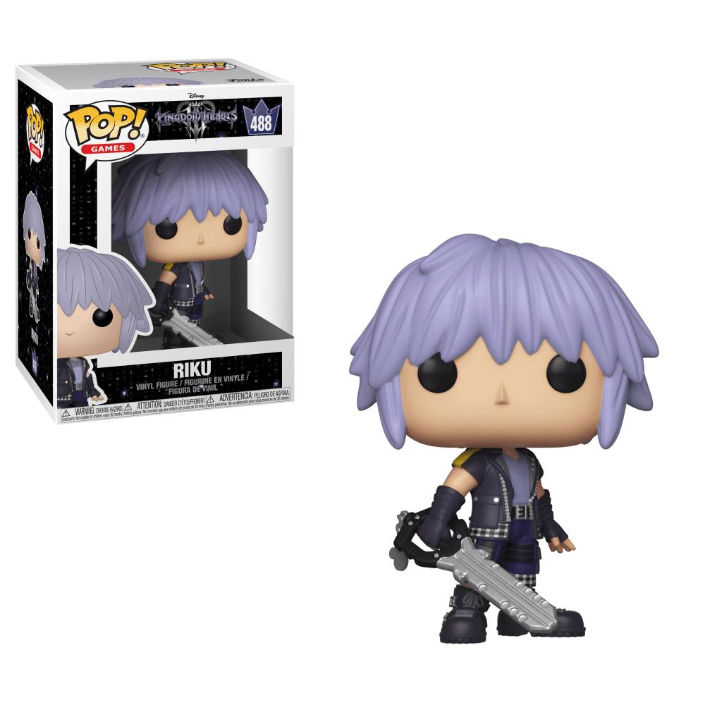 Riku #488 - Kingdom Hearts - Funko Pop! Games