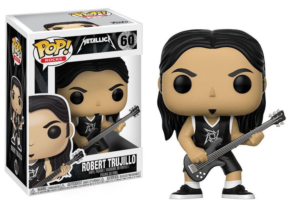 Robert Trujillo #60 - Metallica - Funko Pop! Rocks