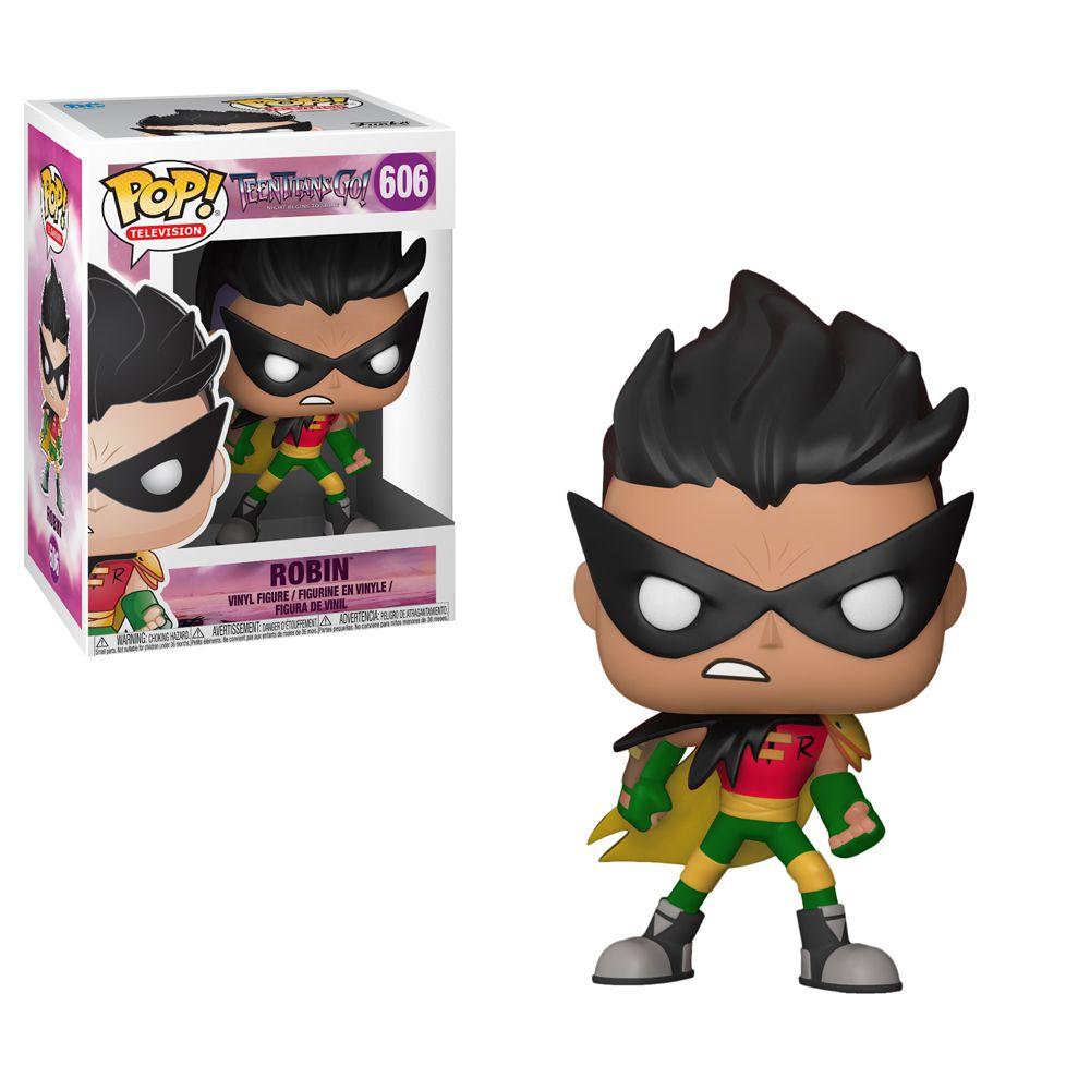 Robin #606 - Teen Titans Go! ( Os Jovens Titãs em Ação ) - Funko Pop! Animation