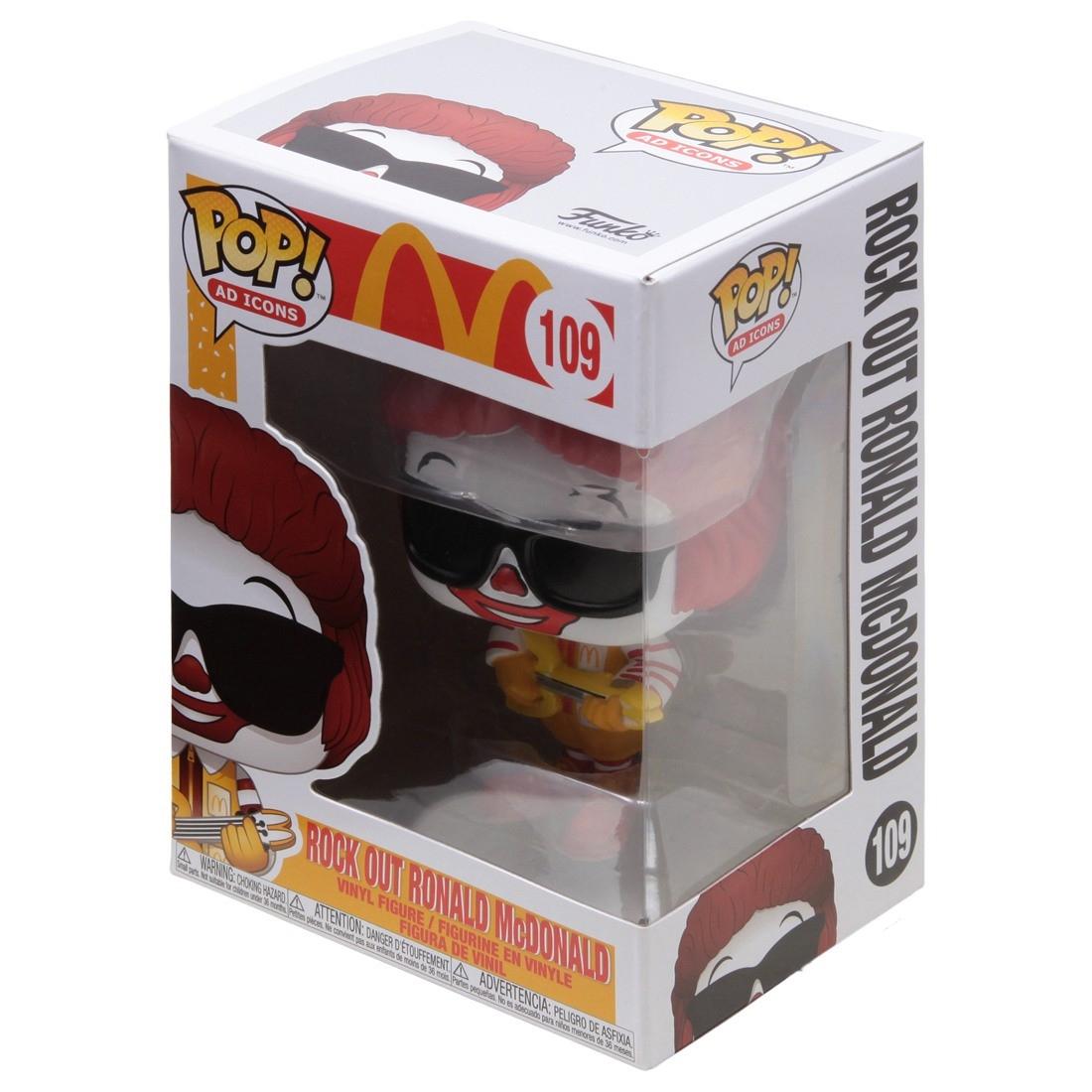 Rock Out Ronald McDonald #109 - Funko Pop! Ad Icons
