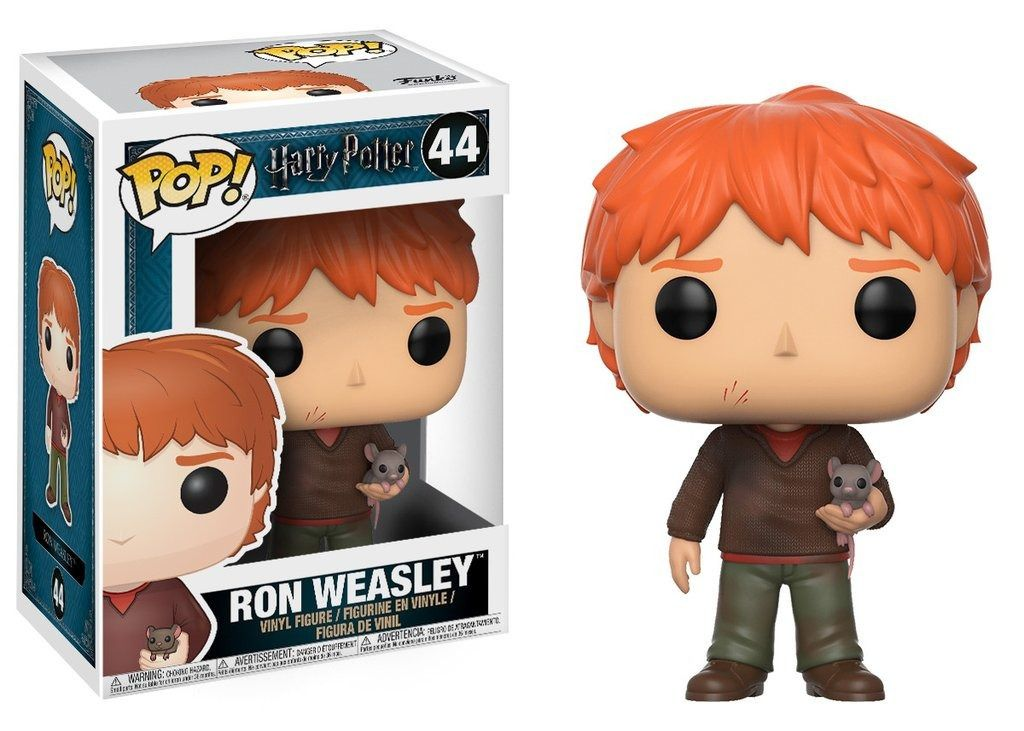 Ron Weasley with Scabbers #44 ( Perebas ) - Funko Pop!