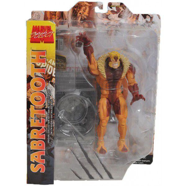 Sabretooth ( Dentes-de-Sabre ) - Marvel Select - Diamond Select Toys