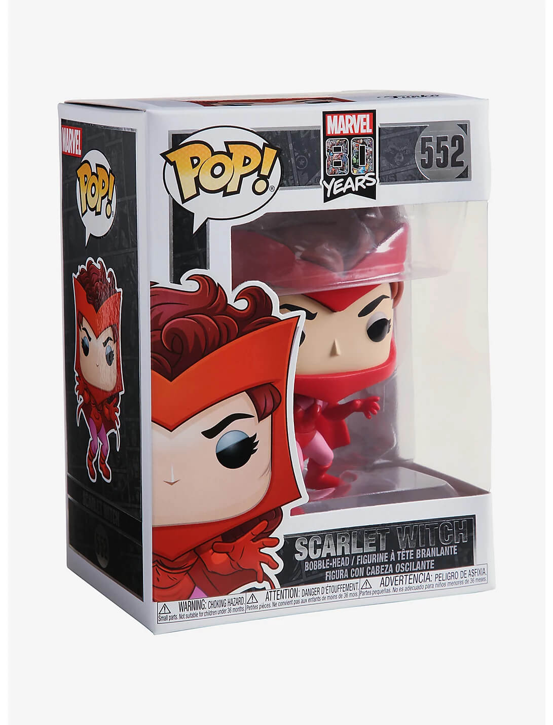 Scarlet Witch #552 (Feiticeira Escarlate) - 80 Years - Funko Pop! Marvel