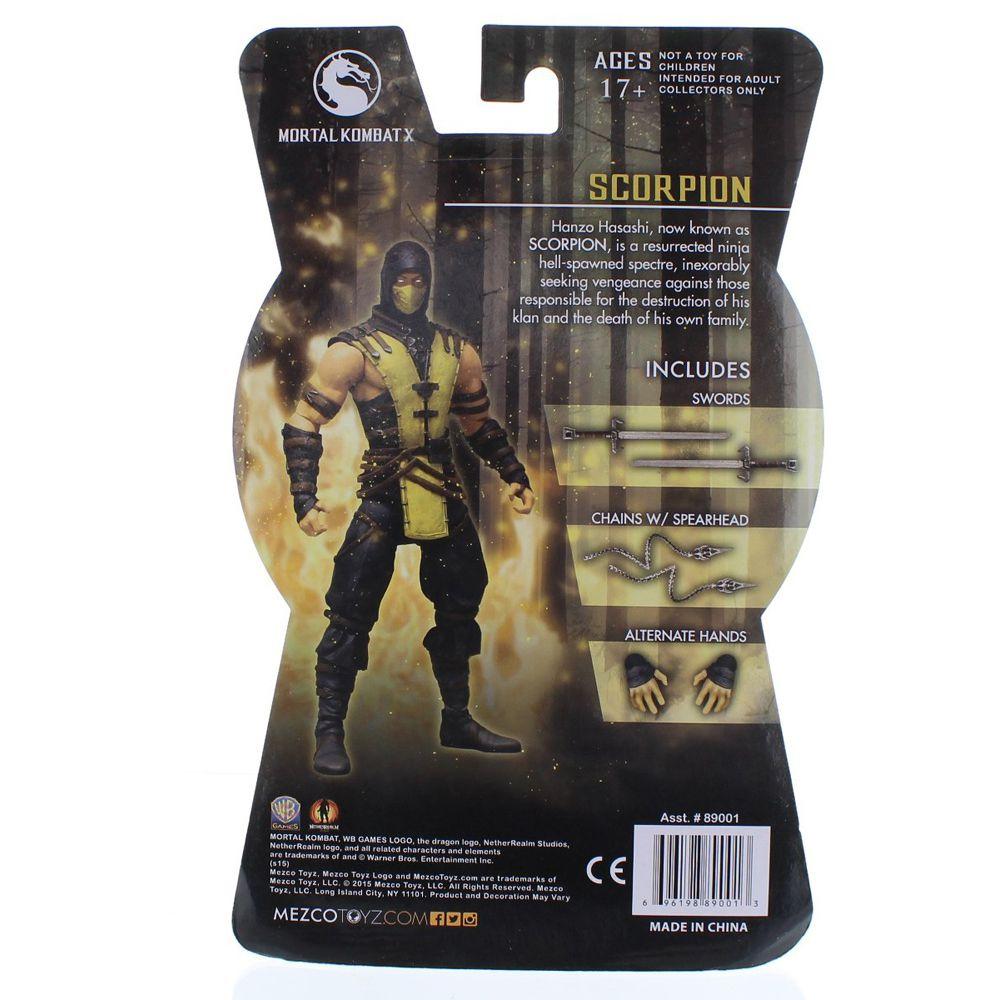 Scorpion - Mortal Kombat X - Mezco