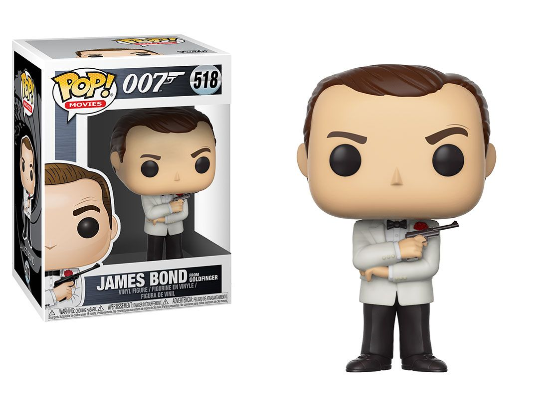 Sean Connery #518  - James Bond - 007 Goldfinger - Funko Pop! Movies
