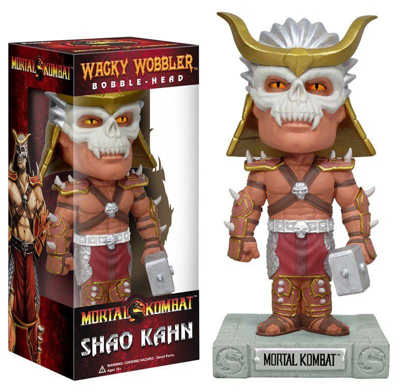 Shao Khan - Mortal Kombat - Funko Wacky Wobbler
