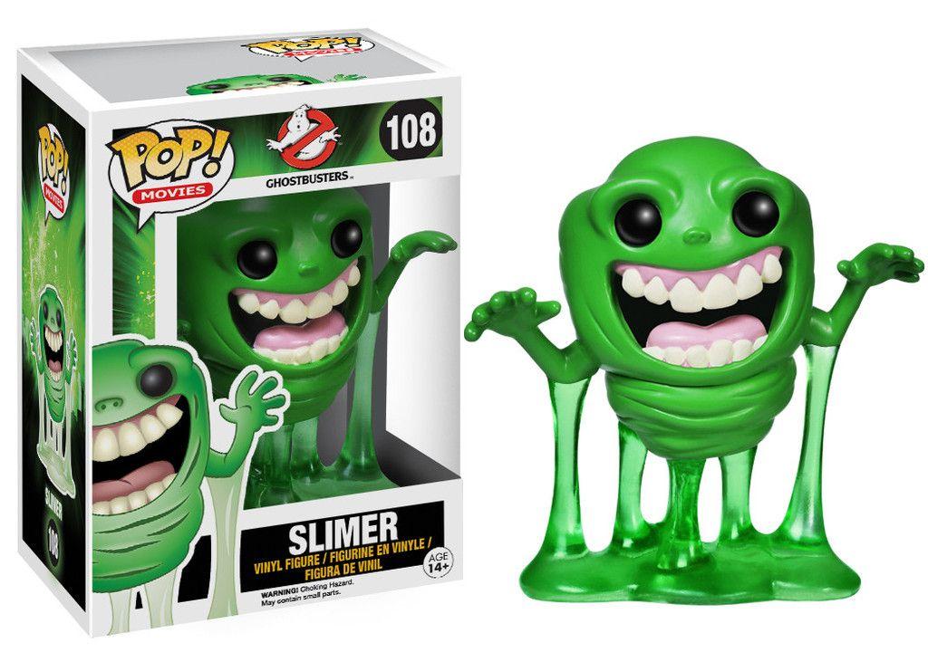Slimer #108 ( Geléia ) - Ghostbusters ( Caça-Fantasmas ) - Funko Pop! Movies