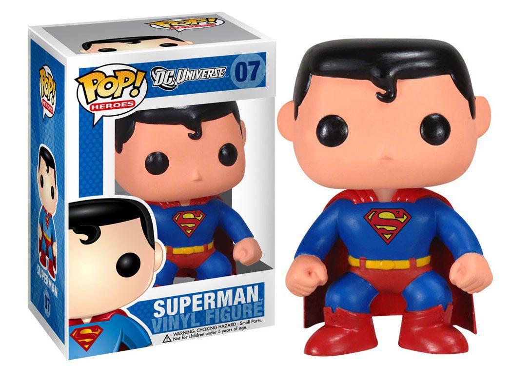 Superman #07 ( Super Homem ) - DC Universe - Funko Pop! Heroes