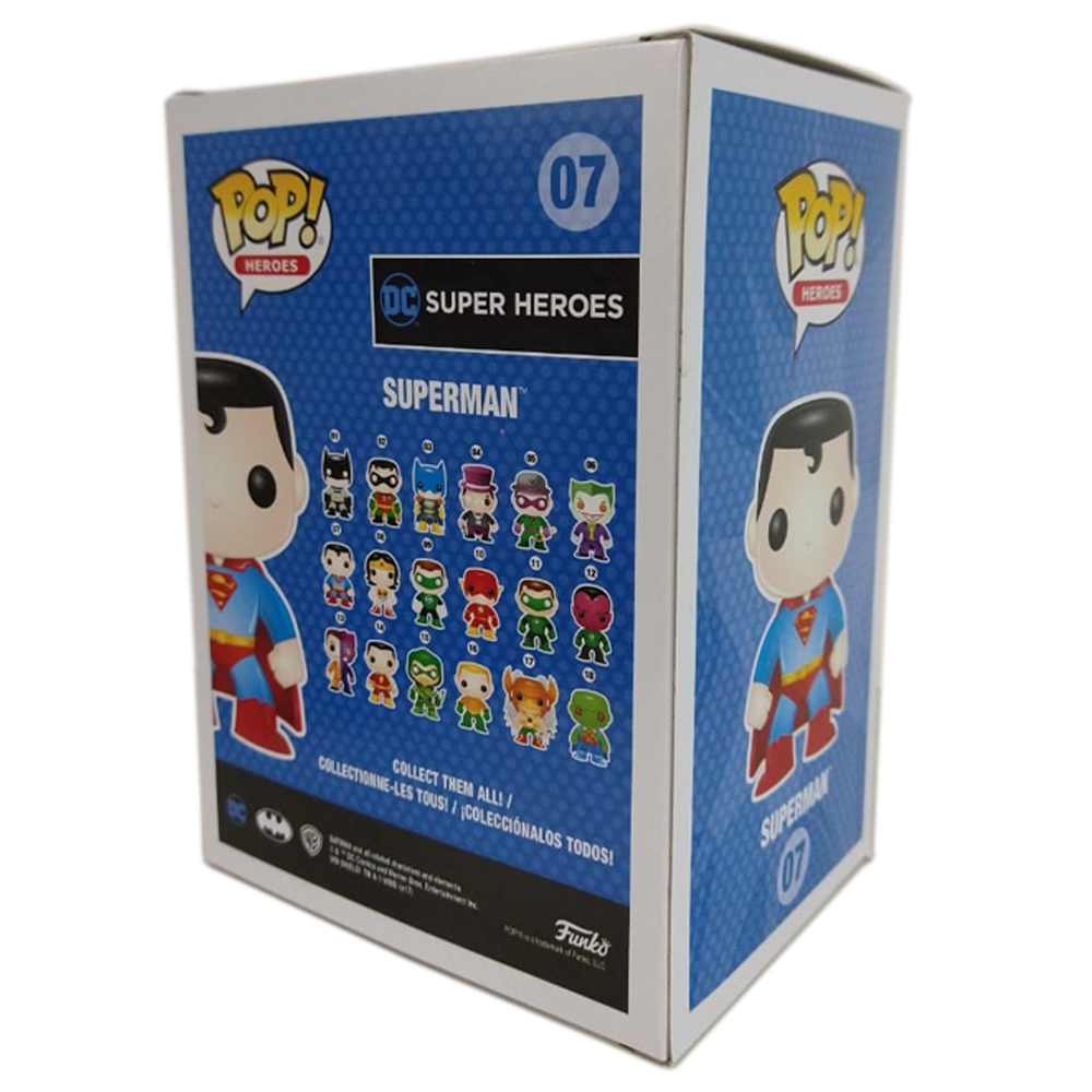 Superman #07 ( Super Homem ) - DC Universe - Funko Pop! Heroes Chase Limited Edition