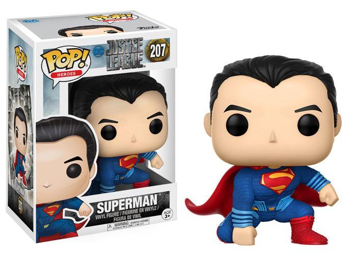 Superman #207 ( Super Homem ) - Justice League ( Liga da Justiça ) - Funko Pop! Heroes