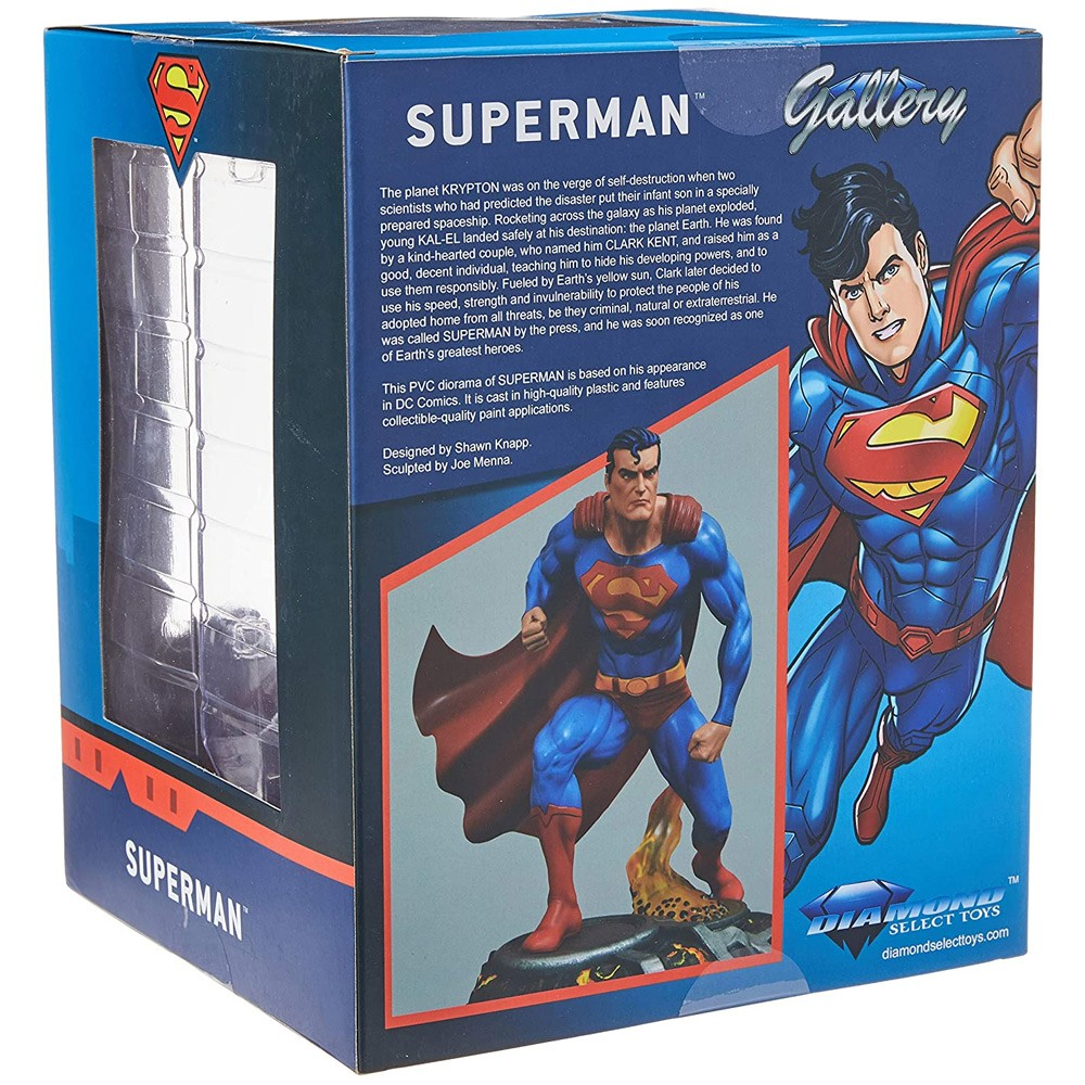Superman (Super-Homem) - DC Gallery - Diamond Select Toys