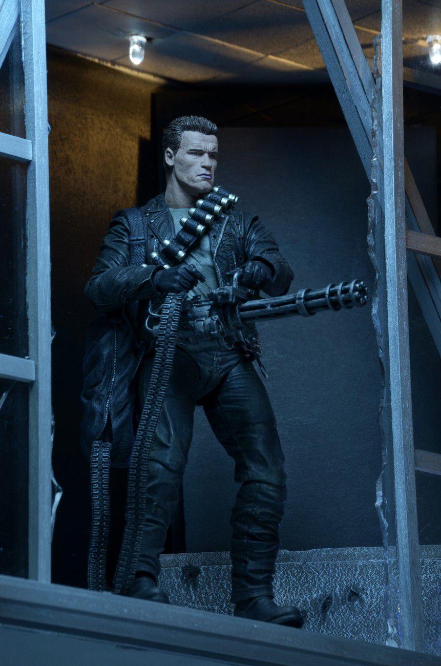 T-800 - Terminator 2 Judgment Day ( Exterminador do Futuro 2 Dia do Julgamento ) - NECA