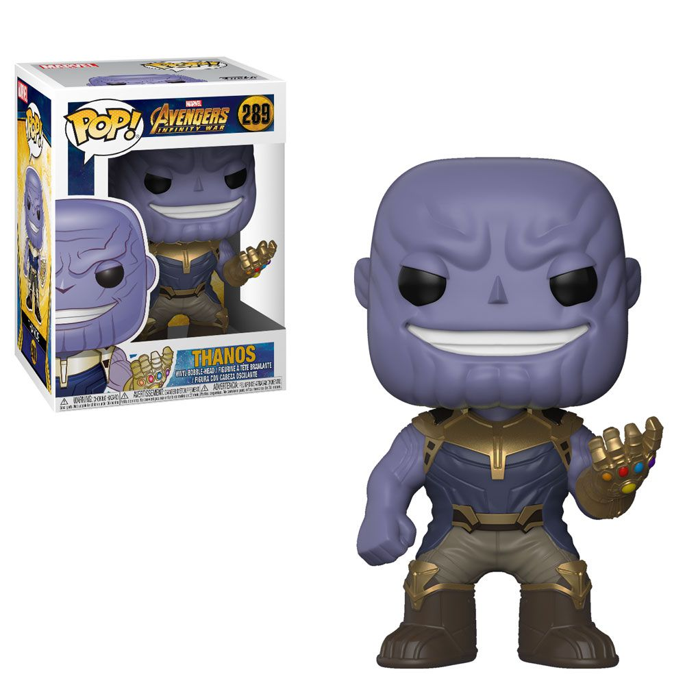 Thanos #289 - Avengers Infinity War (Vingadores Guerra Infinita) - Funko Pop! Marvel
