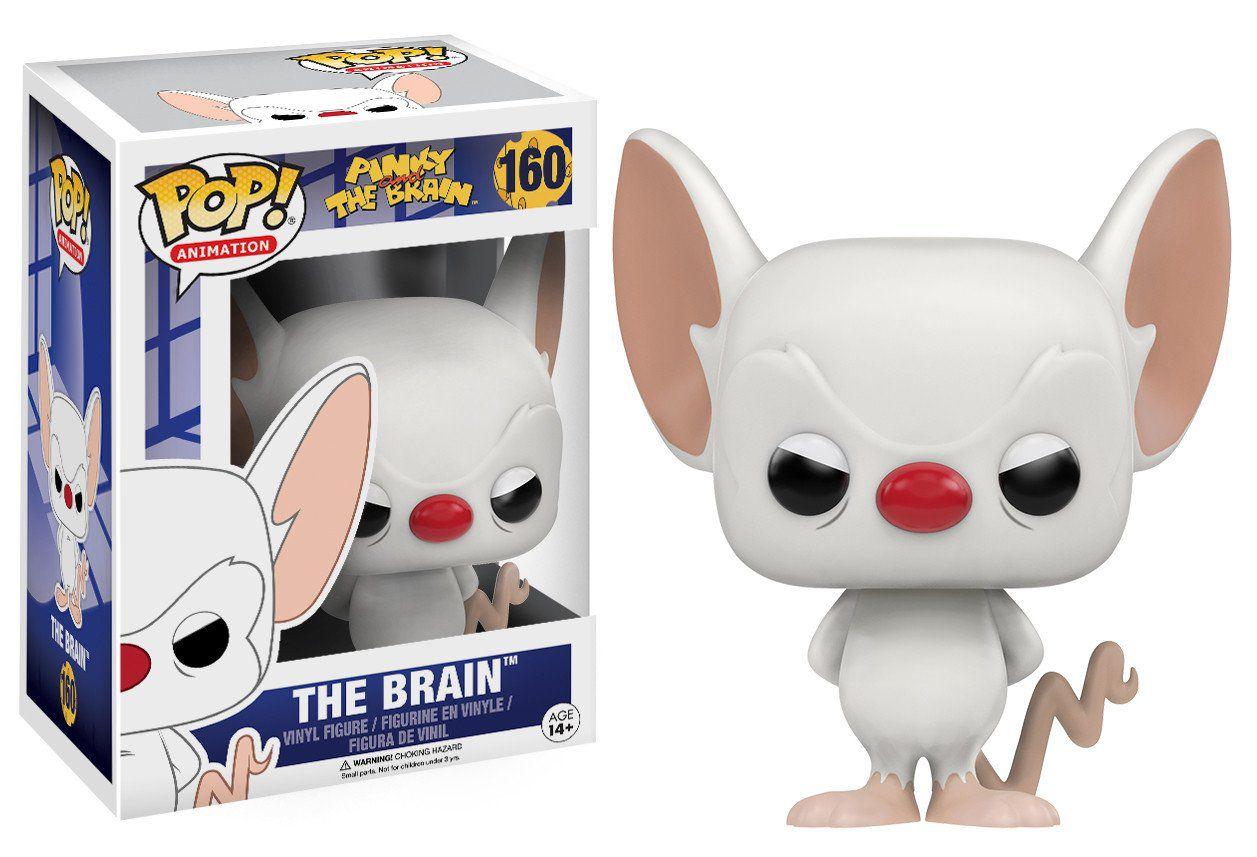The Brain #160 ( O Cérebro ) - Pink and The Brain ( Pink e o Cérebro ) - Funko Pop! Animation