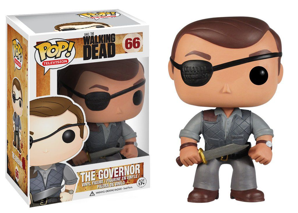 The Governor #66 ( Governador ) - The Walking Dead - Funko Pop! Television