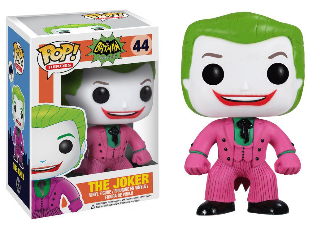 The Joker #44 ( Coringa ) - Batman Classic TV Series - Funko Pop! Heroes