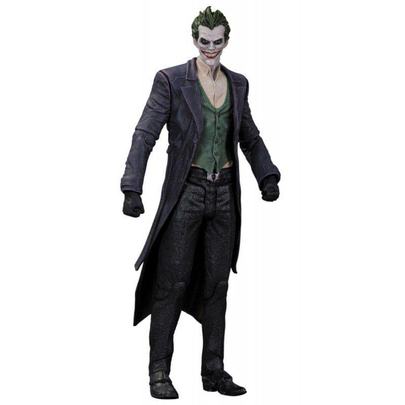 The Joker ( Coringa ) - Batman Arkham Origins - DC Collectibles