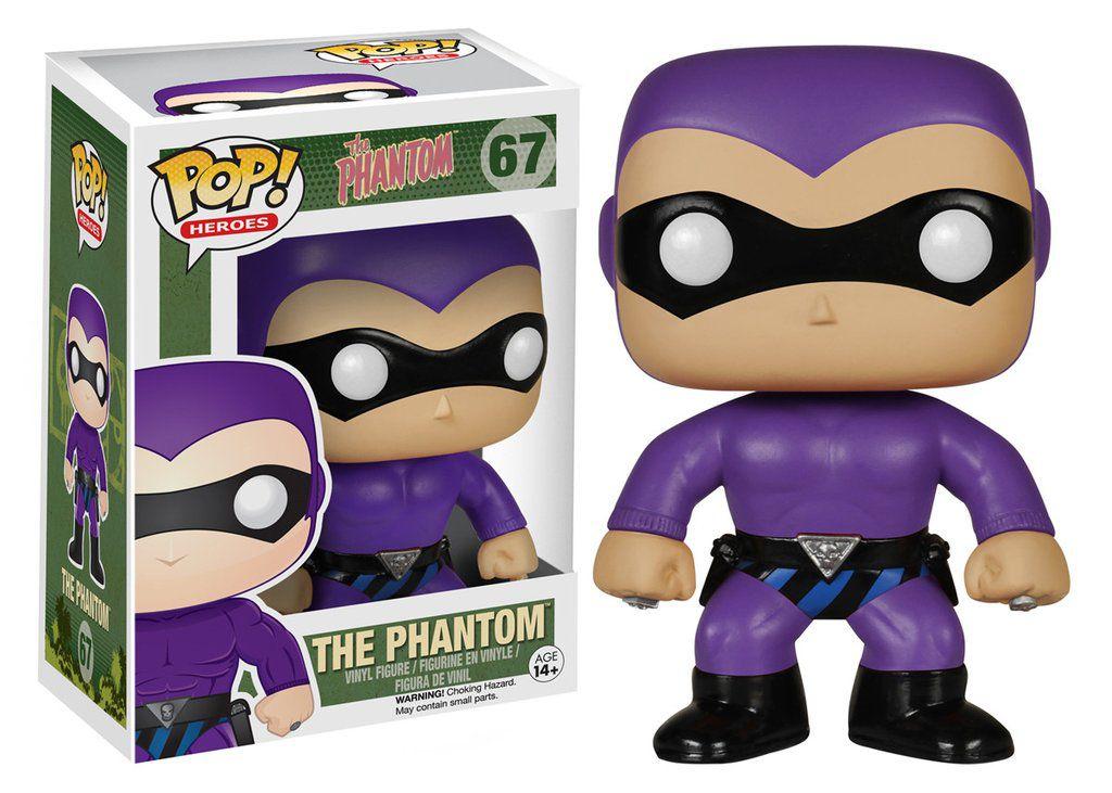 The Phanton #67 ( O Fantasma ) - Funko Pop! Heroes