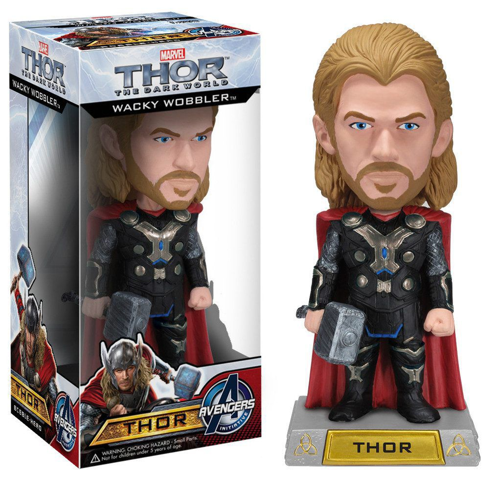 Thor The Dark World ( O Mundo Sombrio ) - Funko Wacky Wobbler