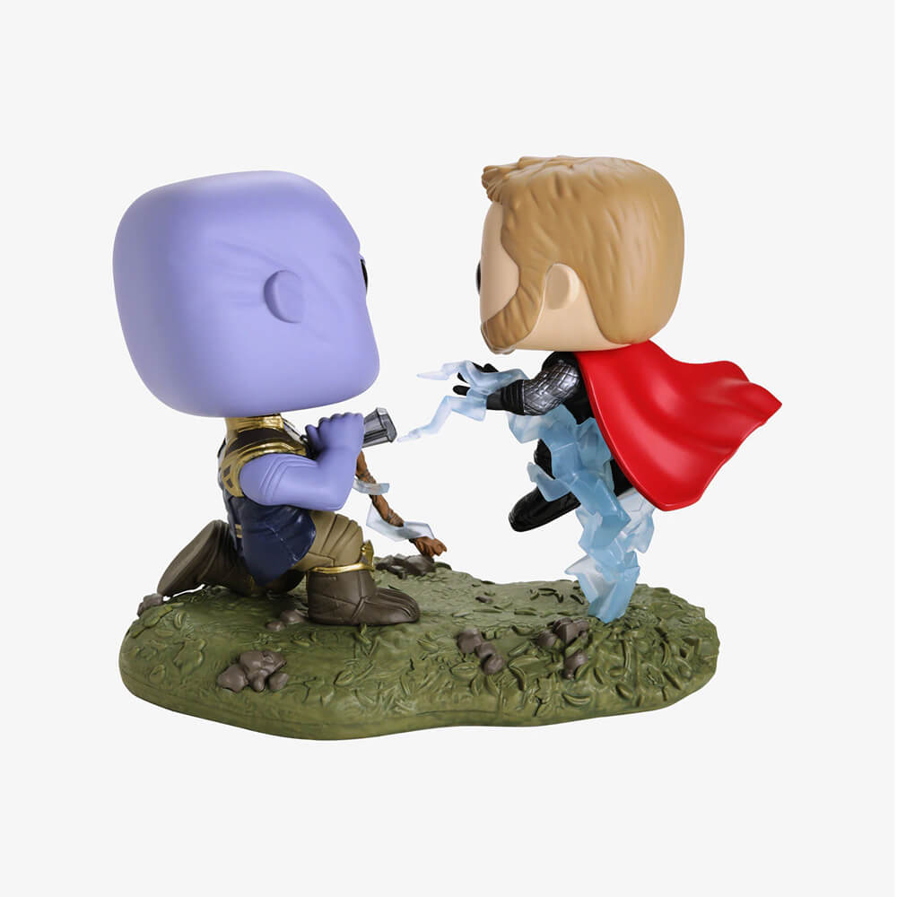 Thor VS. Thanos #707 - Avengers Infinity War (Vingadores Guerra Infinita) - Funko Pop! Marvel Movie Moments
