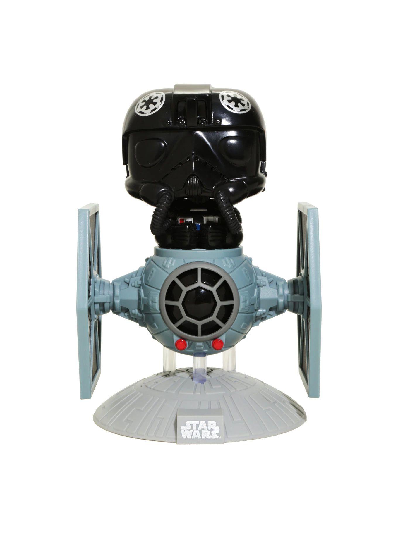 TIE Fighter Pilot with TIE Fighter #221 - Star Wars - Funko Pop!