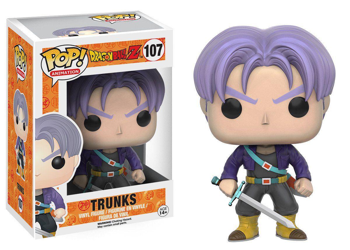 Trunks #107 - Dragon Ball Z - Funko Pop! Animation