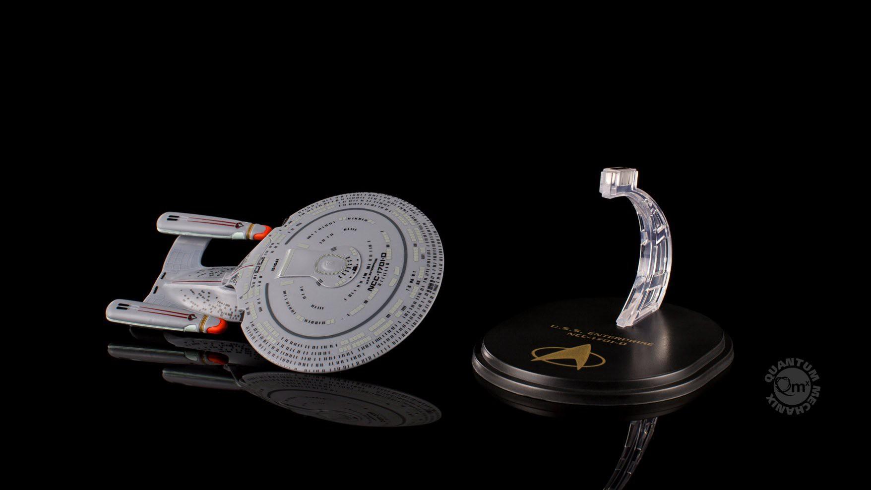 U.S.S. Enterprise NCC-1701D - Star Trek: The Next Generation - Mini Master Vehicles - Quantum Mechanix