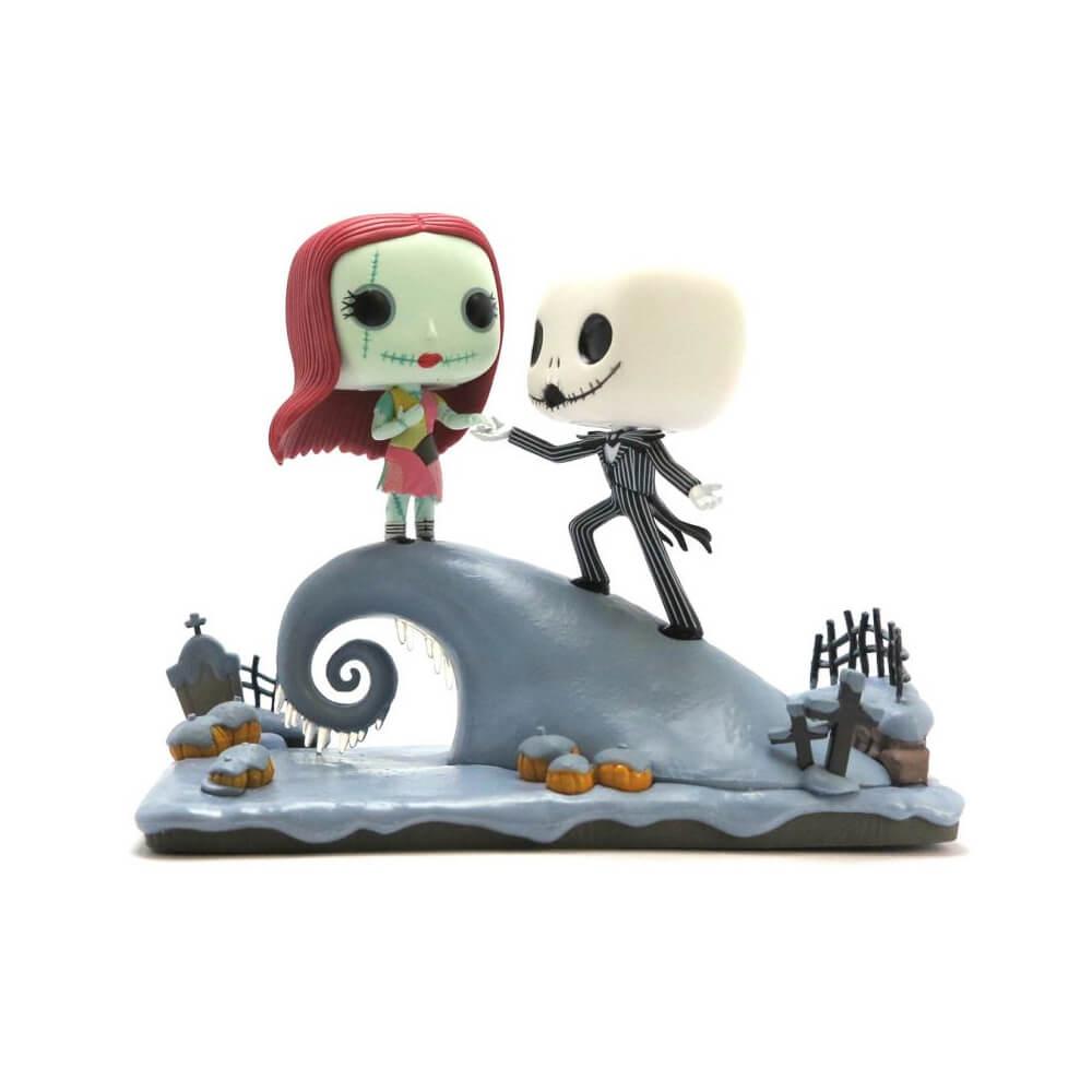 Under The Moonlight #458 - Jack Skellington & Sally - Movie Moment - Funko Pop!