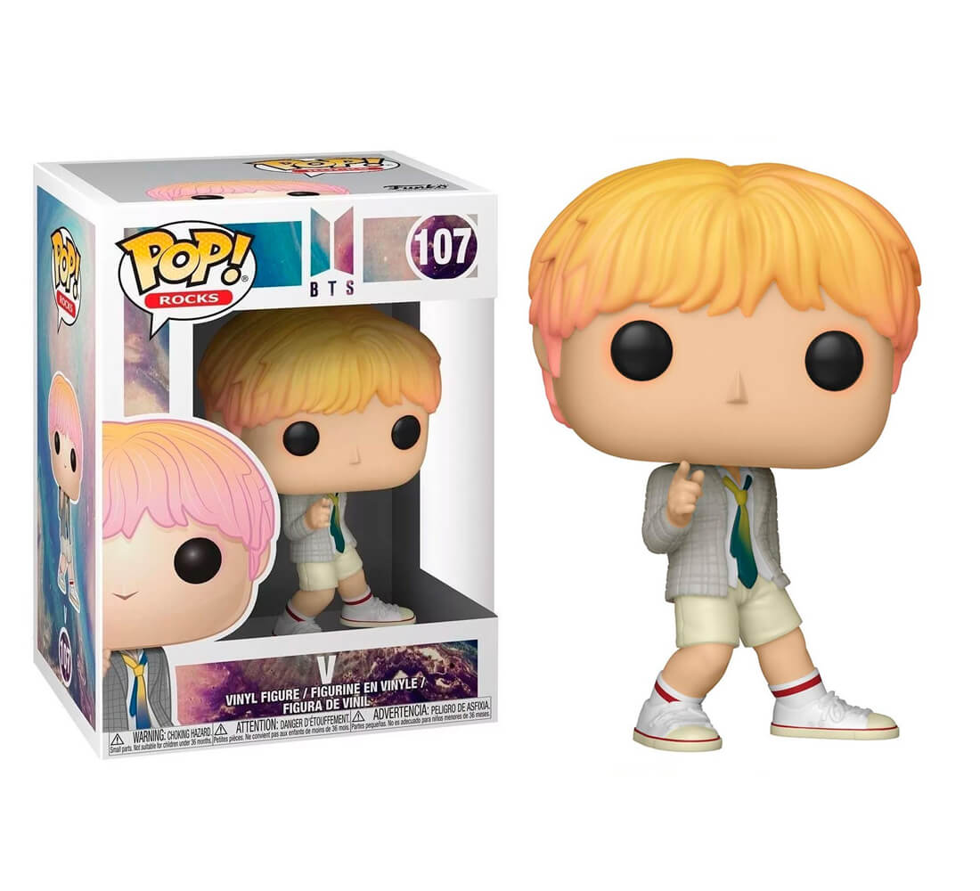 V #107 - BTS - Funko Pop! Rocks