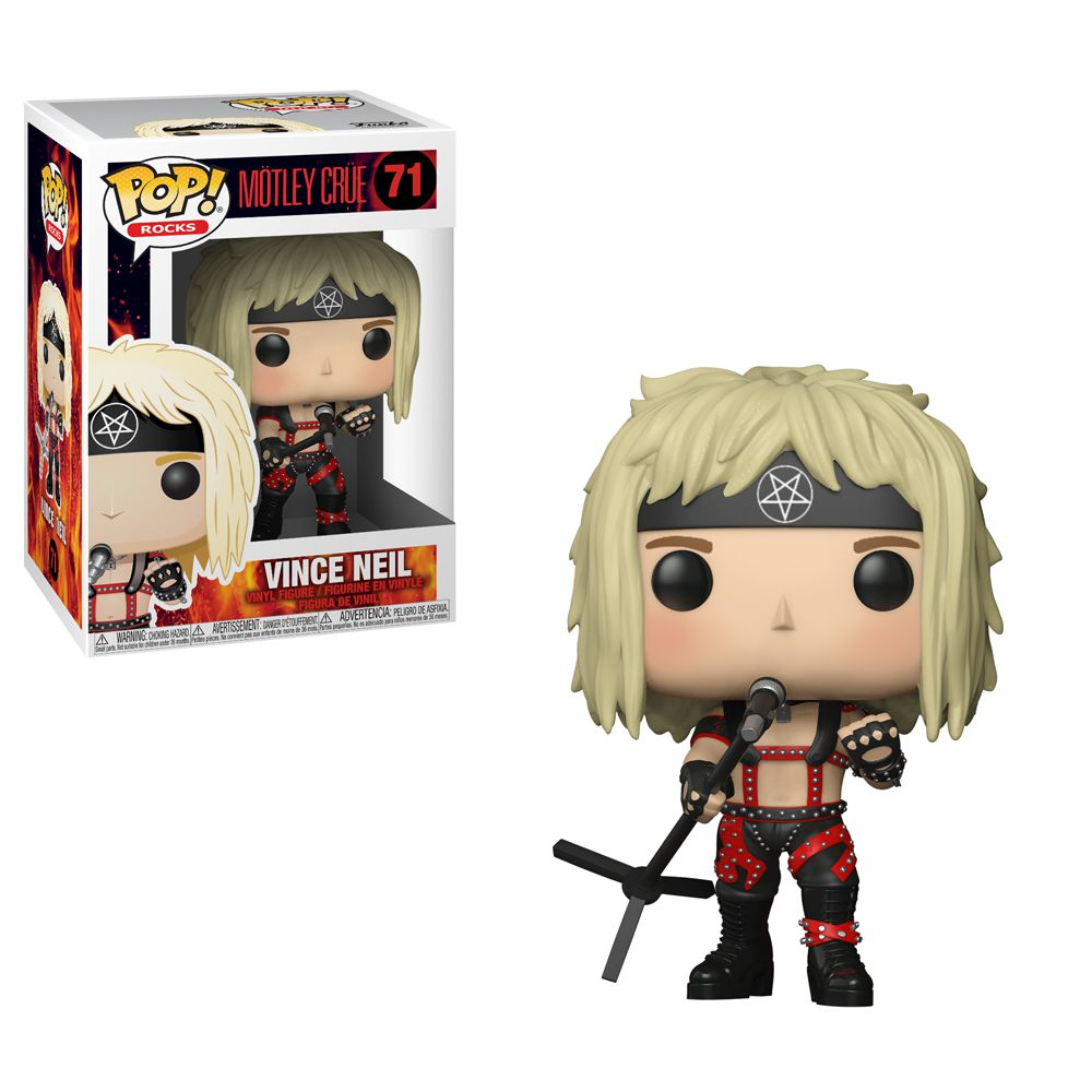 Vince Neil #71 - Motley Crue - Funko Pop! Rocks
