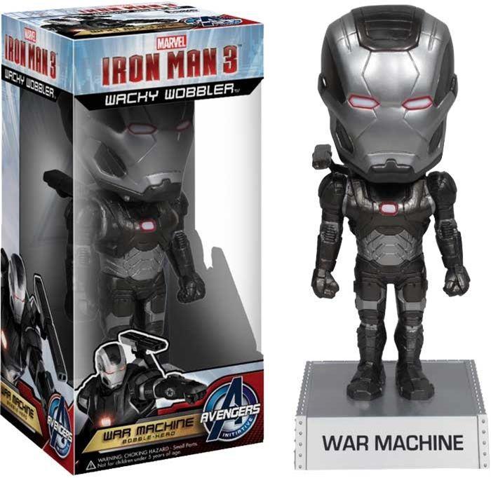 War Machine ( Máquina de Combate ) - Iron Man 3 ( Homem de Ferro 3 ) - Funko Wacky Wobbler