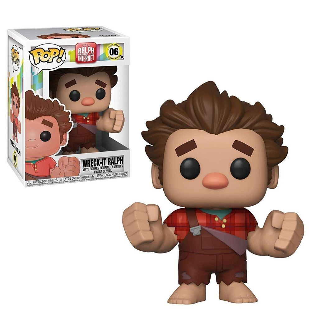 Wreck-It Ralph Breaks The Internet #06 (Detona Ralph Quebrando a Internet) - Funko Pop! Disney