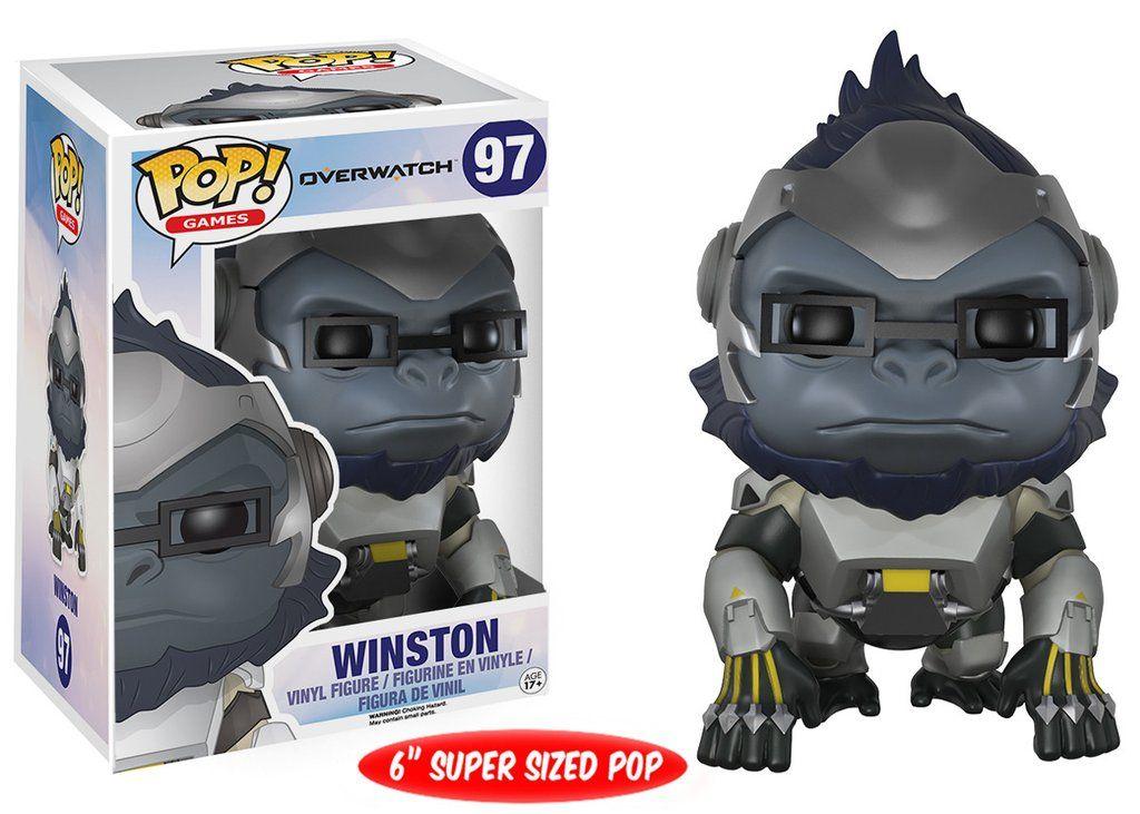 Winston #97 - Overwatch - Funko Pop! Games