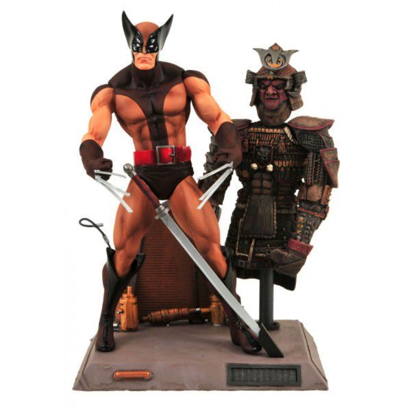 Wolverine Brown Uniform ( Uniforme Marrom ) - Marvel Select - Diamond Select Toys