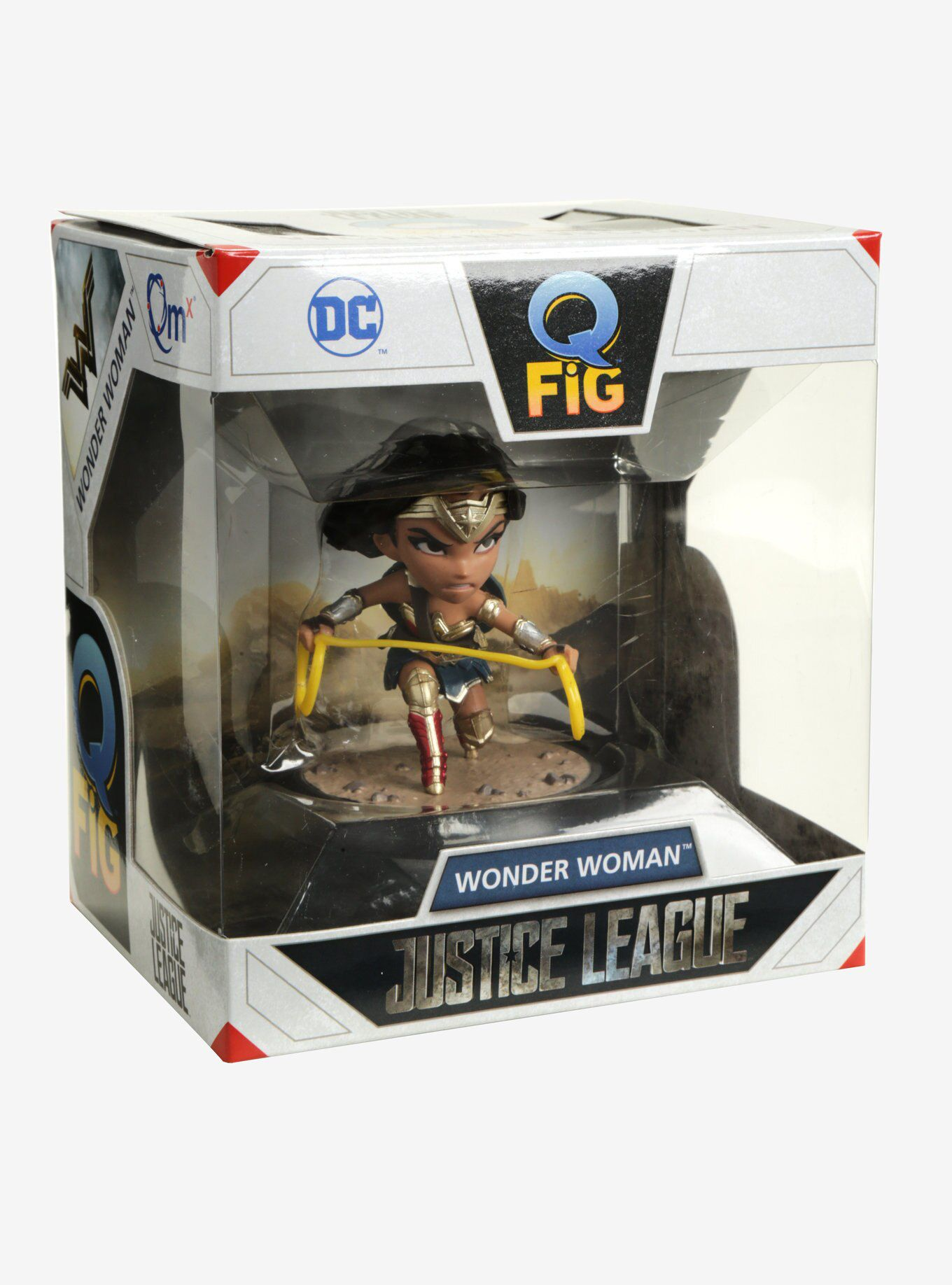 Wonder Woman (Mulher Maravilha) Justice League (Liga da Justiça) - Q-Fig - Quantum Mechanix