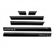 Kit Friso Lateral Monza Sle 83- 90 2 Portas 9cm -colar