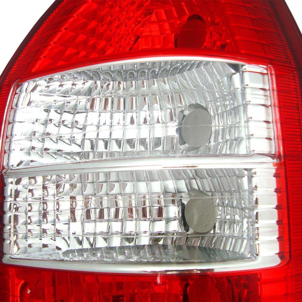 Lanterna Traseira Zafira 01 02 03 04 05 06 até 12 Bicolor
