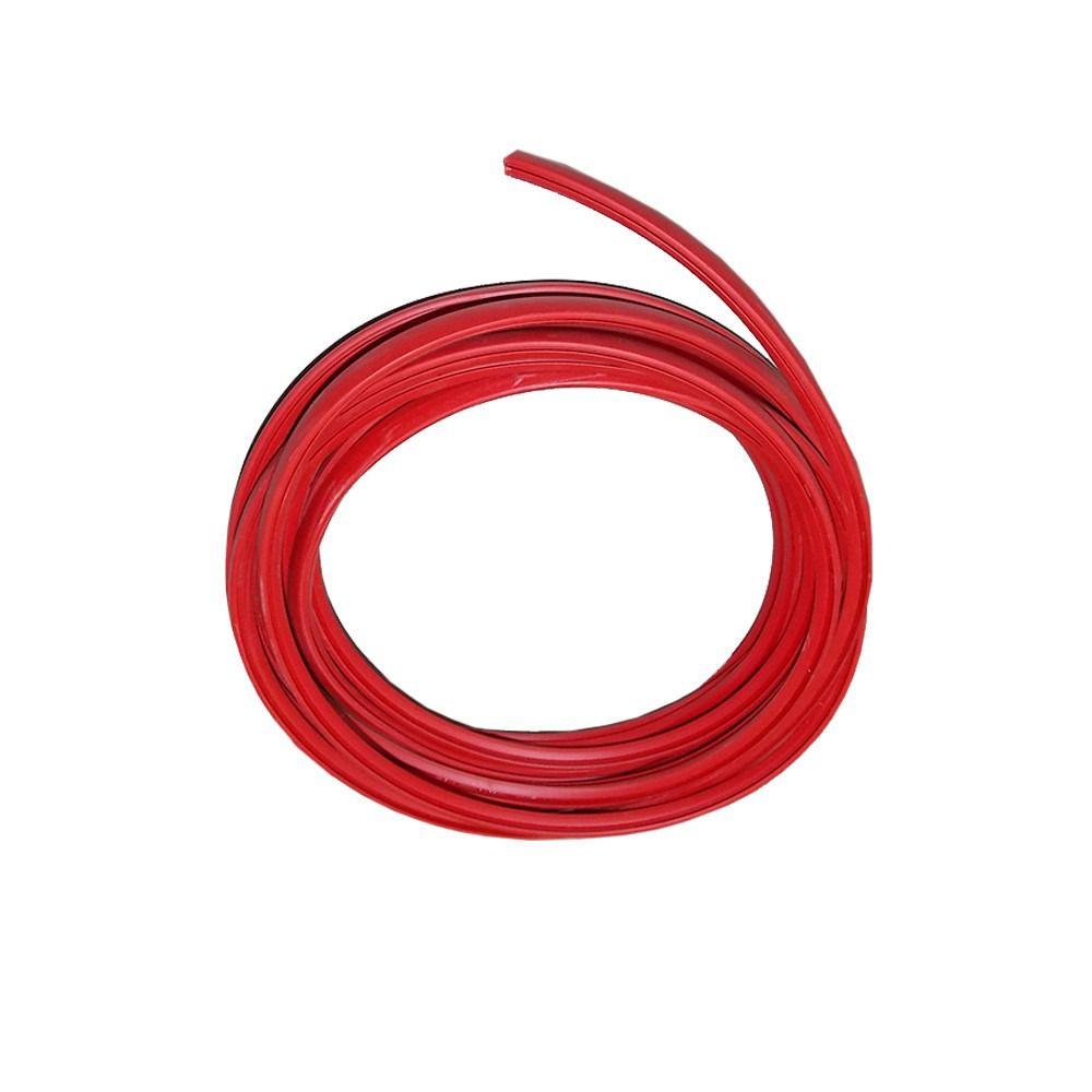 Friso Filete Vermelho Parachoque Logus E Pointer 6 Metros